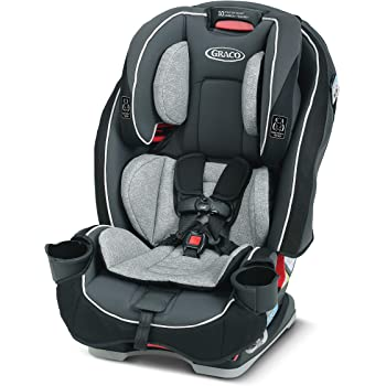 Graco SlimFit 3 in 1 Car Seat | Slim & Comfy Design Saves Space in Your Back Seat, Redmond, Amazon Exclusive