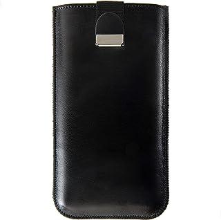 Funda De Cuero Para iPhone (elige tu modelo) Personalizada Caja, Bolsa Nombre o Iniciales Grabadas