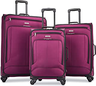Pop Max Softside Luggage with Spinner Wheels, Berry,...