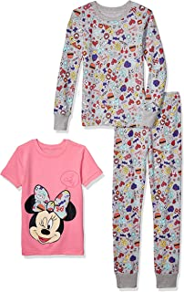 Amazon Brand - Spotted Zebra Girls Disney Star Wars Marvel Frozen Princess Snug-Fit Cotton Pajamas Sleepwear Sets