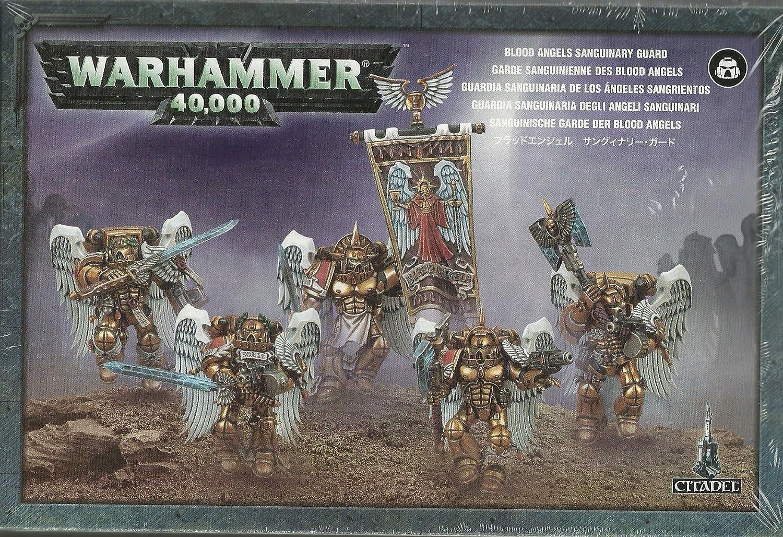 Warhammer 40.000 Sanguinische Garde Blood Angels B003D13DDO Bekannt für seine schöne Qualität     | Verbraucher zuerst