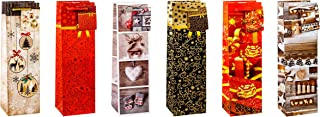 TSI 83299 Geschenkbeutel Weihnachten Serie 9, 12er Packung,