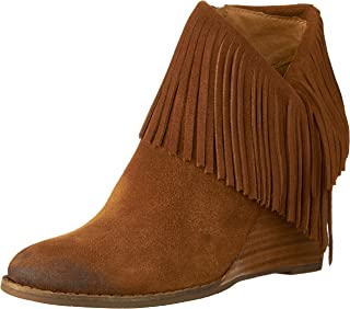 Lucky Brand Women's Yachin Ankle Bootie، Honey ، 6 M US