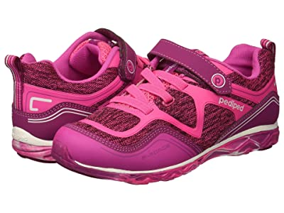 pediped Force Flex (Toddler/Little Kid) (Hot Pink) Girls Shoes