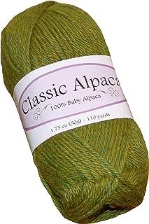 Anjou Green Classic Alpaca 100% Baby Alpaca Yarn #1470