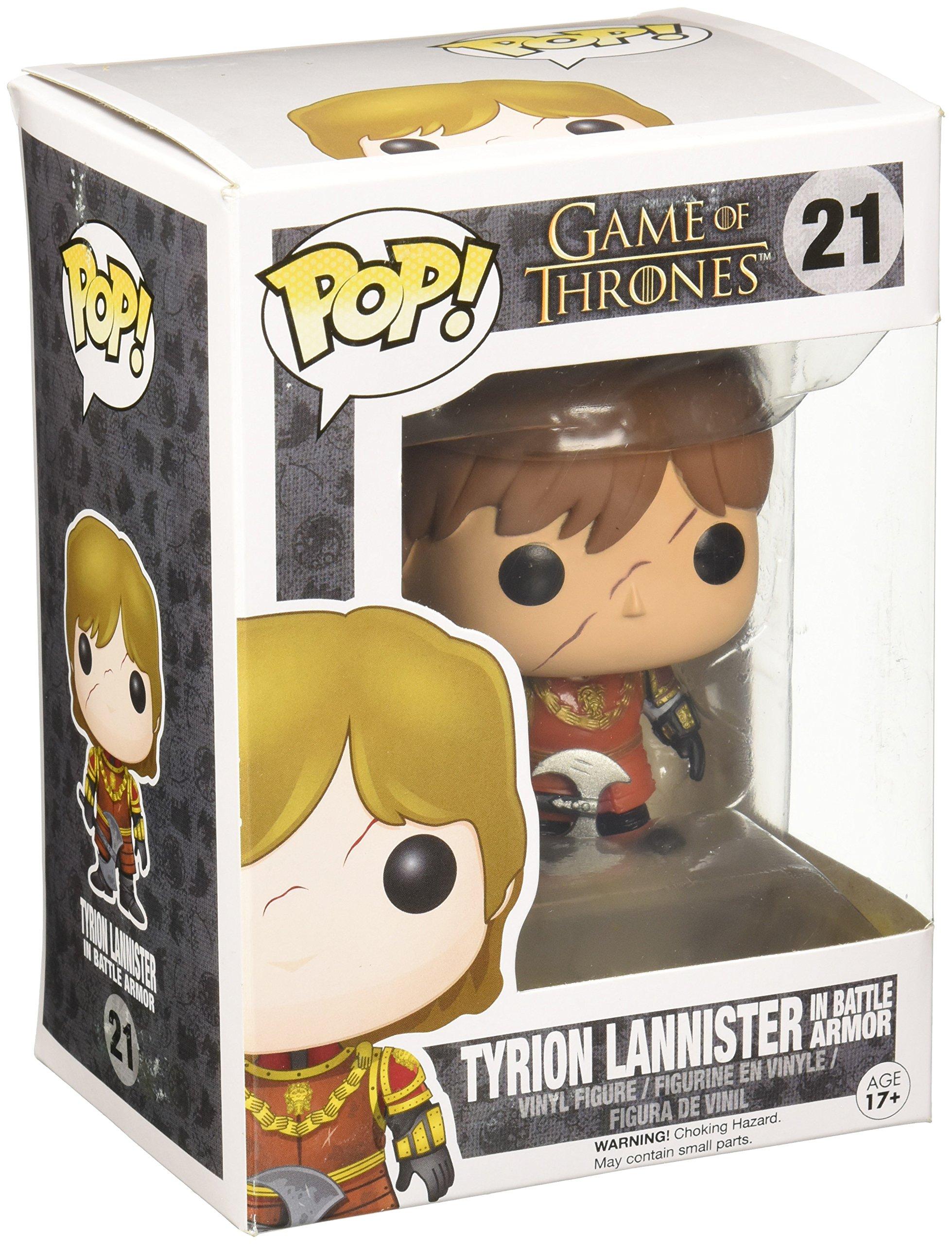 Funko Pop! - Vinyl: Game of Thrones: Tyrion in Battle Armour (3779): Amazon.es: Juguetes y juegos