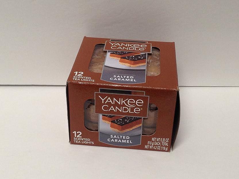 骨折ピザ序文Yankee Candle Sugar & Spice, Food & Spice香り Scented Tea Light Candles ブラウン 1342452-YC