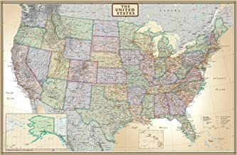 Best us map with cities and highways Reviews