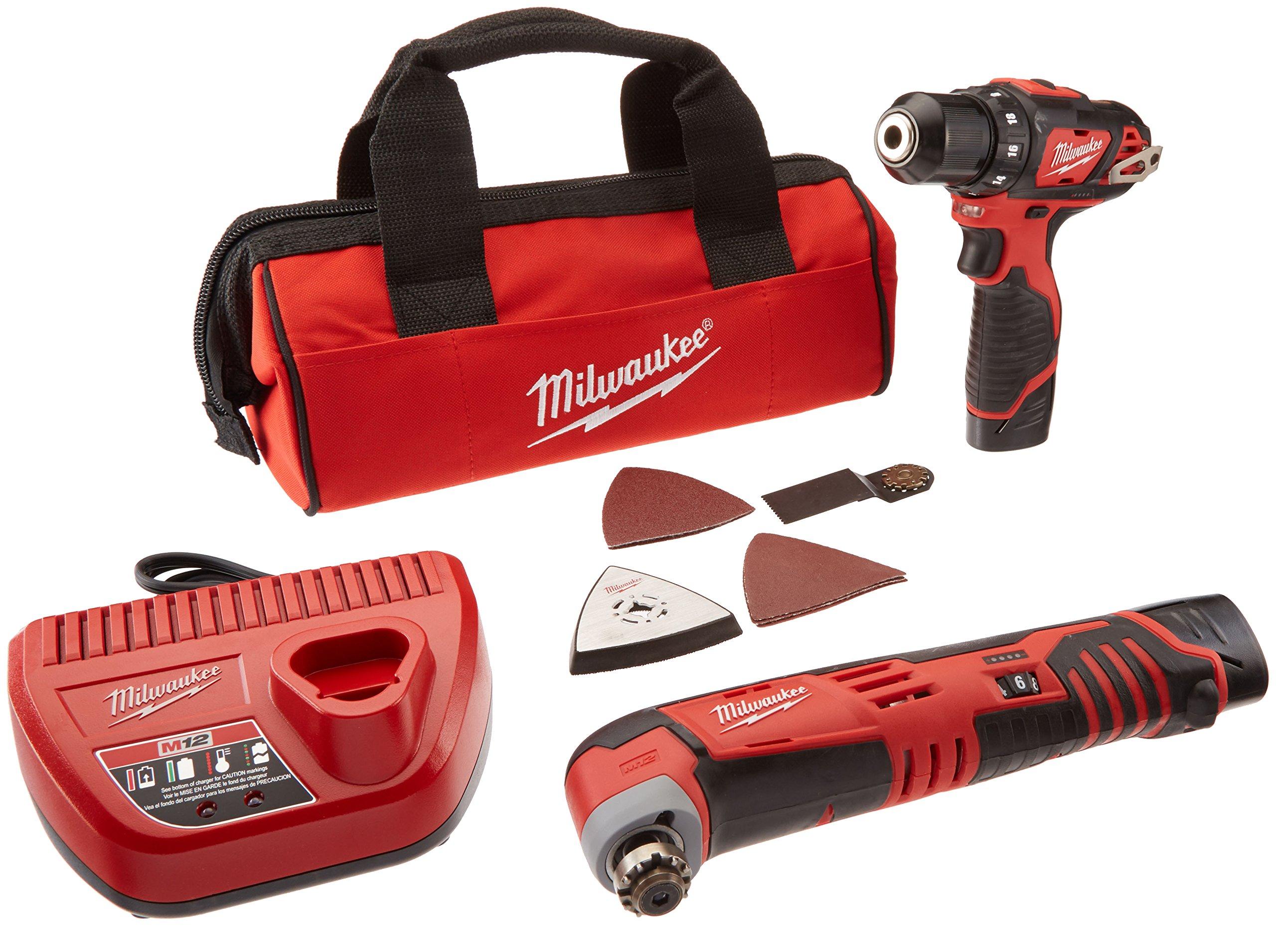 Milwaukee 2495 22 Combo Drvdrl Multi tool