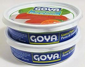 Goya Guava Paste Tub Pasta de Guayaba 21 Oz 595g (2 Pack)