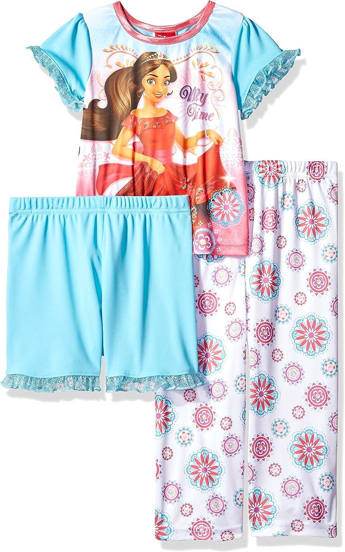 Disney Girls' Elena of Avalor 3-Piece Pajama Set