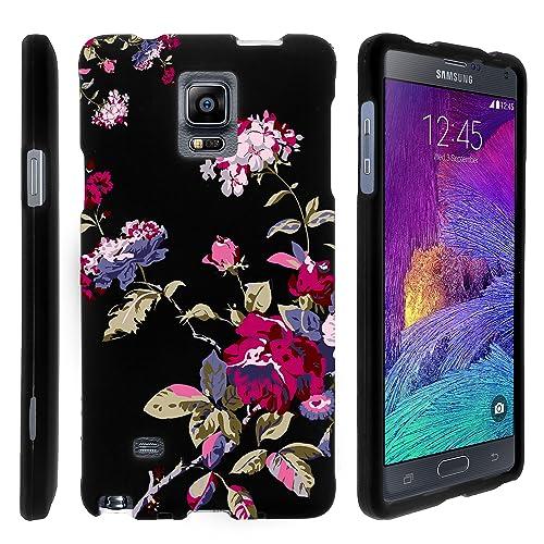 brand new acee3 e7a09 Samsung Note 4 Floral Design Cases: Amazon.com
