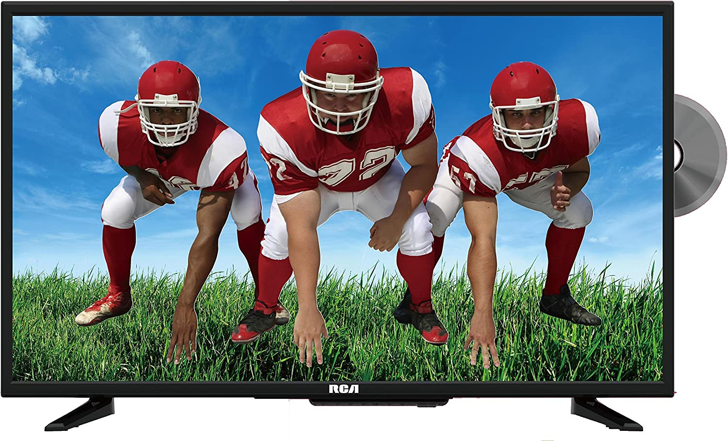 Roman 9.5 inches Bluetooth TV with Music and Led Rotate Sledders with Adapter