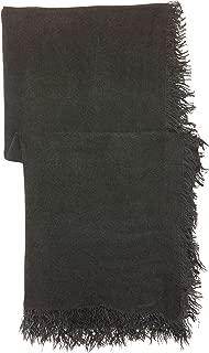 Pull & Bear Scarve For Women - Dark Grey, Medium