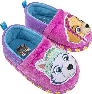 دمپایی Paw Patrol Toddler ، چیس مارشال ، دمپایی مخمل خواب دار Skye Everest ، اندازه کودک نو پا 5/6 تا 11/12