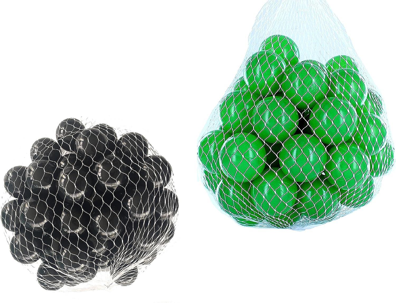 40% de descuento Pelotas para pelotas baño variadas Mix con con con verde y negro Talla 1000 Stück  punto de venta barato