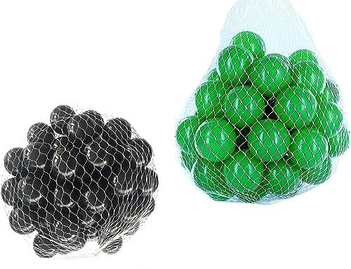 ahorra hasta un 50% Pelotas para pelotas pelotas pelotas baño variadas Mix con verde y negro Talla 1000 Stück  apresurado a ver