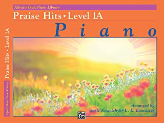 Alfred's Basic Piano Library Praise Hits, Bk 1A (Alf