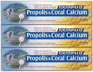 Sponsored Ad - Natural Fluoride Free Propolis Toothpaste Anti-Plaque Triclosan Free No Preservative, No Artificial Sweeten...