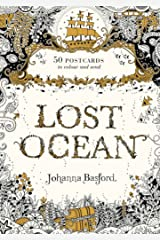 Lost Ocean Postcard Edition: 50 Postcards to Colour and Send Diary