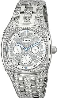 Bulova Men's 40mm Crystal Multifunction Watch