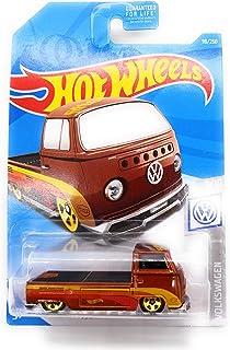 Hot Wheels 2019 Volkswagen Series Volkswagen T2 Pickup 96/250, Brown