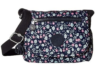 Kipling Sabian Crossbody Mini Bag (Floral Rush) Handbags