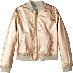 Splendid Littles - Rose Gold Baseball Jacket (Big Kids)