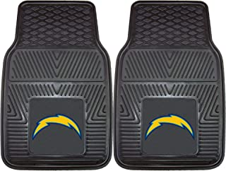 FANMATS NFL San Diego Chargers Vinyl Heavy Duty Car Mat