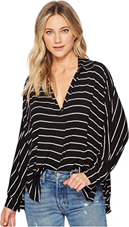 Free People - Striped Can't Fool Me Tee