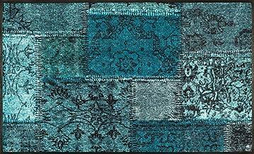Wash&Dry Doormat, Acrylic, grün, 75 x 120 x 0.7 cm