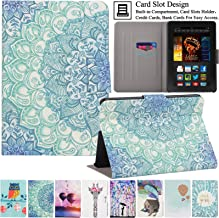 Kindle Fire HDX7 Case, Artyond Ultra Lightweight PU Leather Case Stand Magnet [Auto Wake/Sleep Feature] Protect Slim Folio [Card Slot] Smart Case For Amazon Kindle Fire HDX 7 2013 (Anthemy)