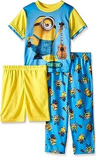 Despicable Me Boys Minion Music Confidence 3-Piece Pajama Set