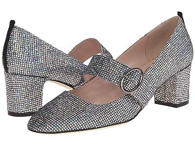 SJP by Sarah Jessica Parker Tartt (Black/Silver Hologram) High Heels