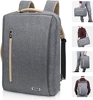 Lifewit Convertible Backpack 15.6 inch Laptop Messenger Bag Multi-Functional Shoulder BriefcaseHandbag with USB Charging Port Business College Travel Rucksack School Bookbag