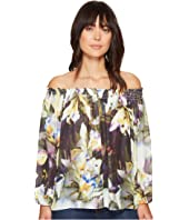 Nicole Miller - Rocky Daffodil Printed Top