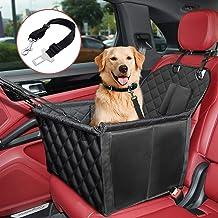 KYG Seggiolino Auto per Cani Materiale Impermeabile Seggiolino Auto per Sedile Anteriore e Sedile Posteriore Protezione Laterale Resistente agli Strappi
