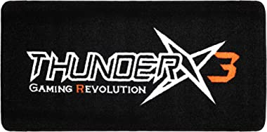 ThunderX3 Mat for Chair, Vinyl, Black, 100 x 100 x 0.5 cm