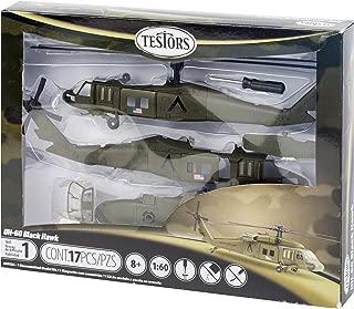 Testors UH-60 Black Hawk Helicopter Model Kit (1:60 Scale)