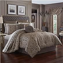 J. Queen New York Astoria 4 Piece King Comforter Set in Mink