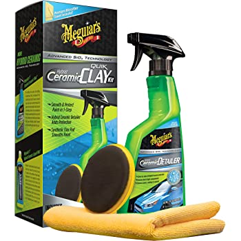 MEGUIAR'S G200200 Hybrid Ceramic Quik Clay Kit