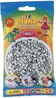Hama Beads-207-70 Abalorios, Color Gris (207-70)