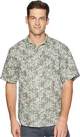 Lino Flora Linen Blend Shirt