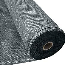 Masgard® brise vue renforcé gris 150 g/m² brise vent tissu d'ombrage différentes dimensions (1,00 m x 10,00 m = 10 m² (pliée))