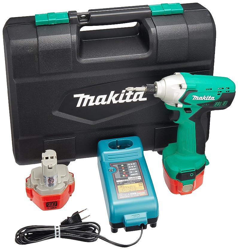 辛いマーティンルーサーキングジュニア発音するマキタ(Makita)  充電式インパクトドライバ 12V バッテリー2個付き M694DWX