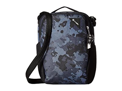 Pacsafe Vibe 200 Anti-Theft Compact Travel Bag (Grey Camo) Day Pack Bags