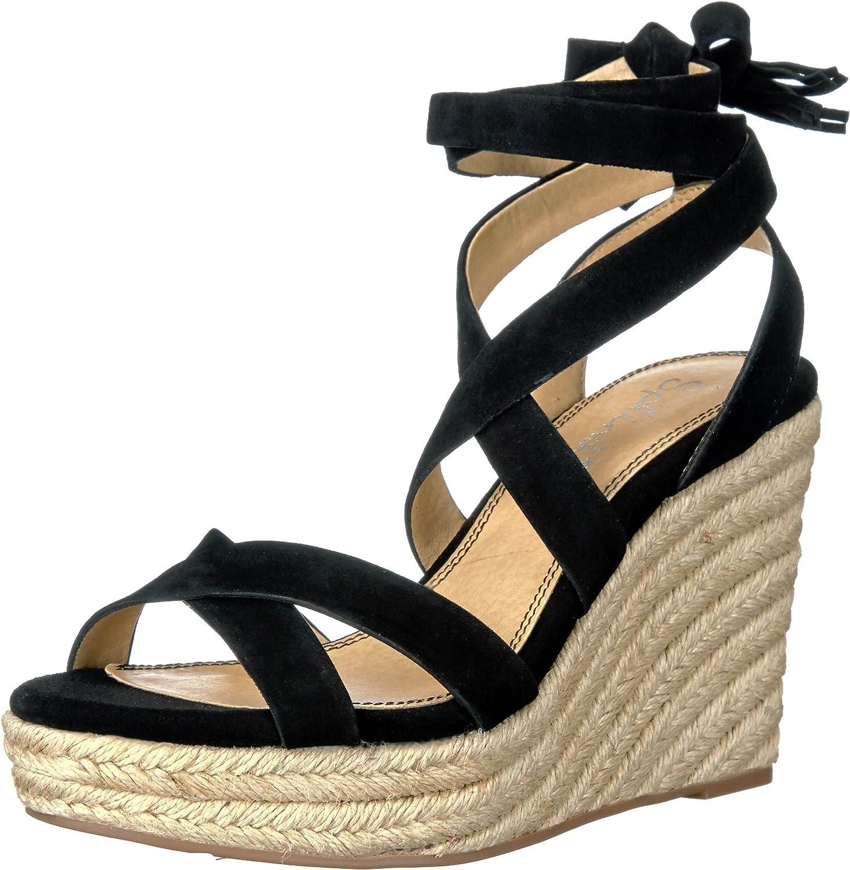 Splendid Womens Janice Espadrille Wedge Sandal