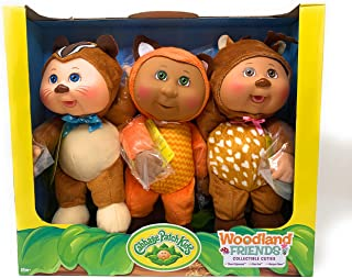 Cabbage Patch Kids Collectible Cuties Woodland Friends 3 Pack