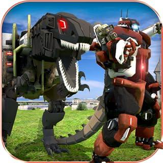 Simulador de rescate Dino Robot