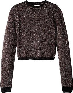 Mock Neck Sweater (Big Kids)